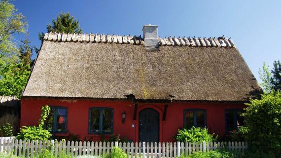 Hus i Høsterkøb Foto: Jean Schweitzer