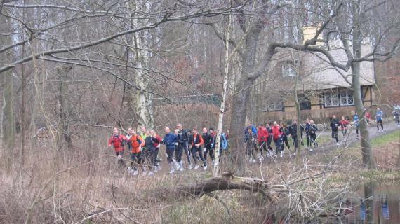 Løbere på RudersdalRuten