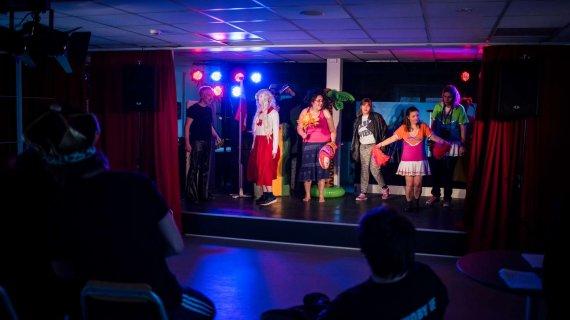 Foto: Ruder Es (optræden på scene)