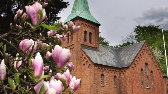 Vedbæk Kirke Foto: Jean Schweitzer