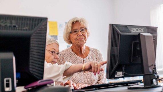 Foto: IT-kursus for seniorer