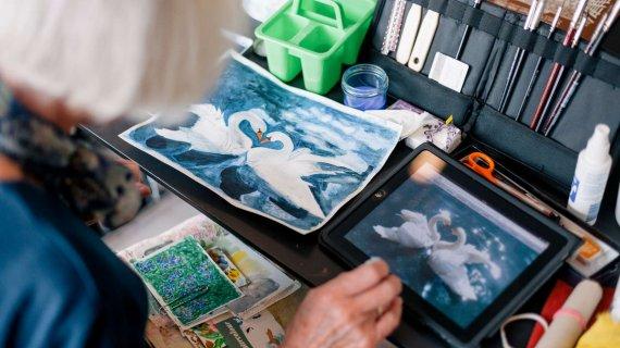 Foto: Aftenskoler - gå til maling