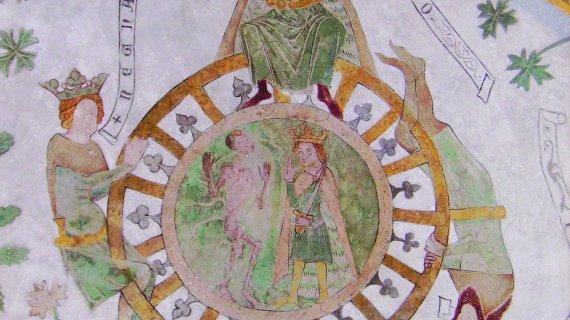 Kalkmaleri i Birkerød Kirke