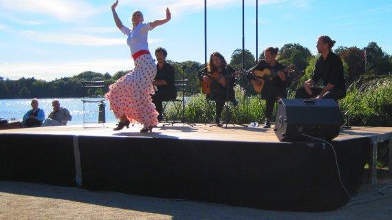 Flamenco og tango i Holte Havn