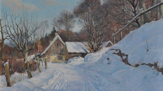 Maleri: Klokkerhuset, Harald Pryn