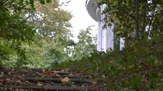 Foto: Høbjerg med vandtårn