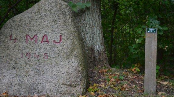 Foto: Høbjerg - 4. maj sten