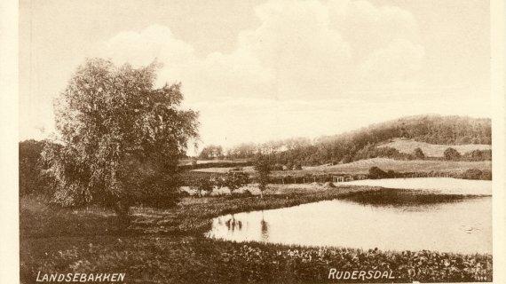 Foto: Landsebakken 1910
