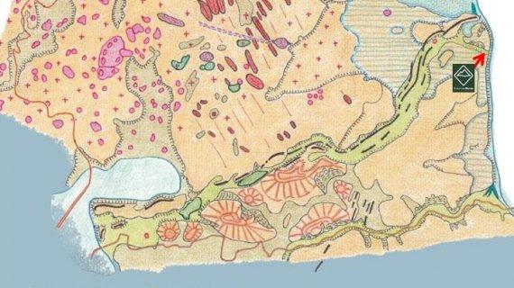 Det geologiske landskabskort
