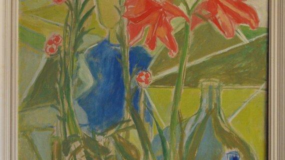 Maleri af Christine Swane: Uden titel