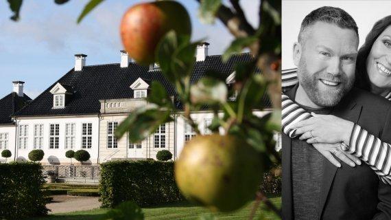 Æbledag med Ole og Kaya