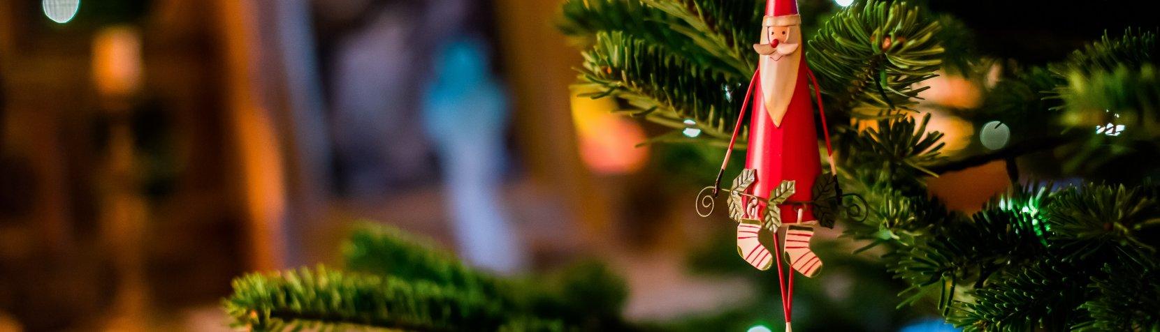 Juletræ og lys