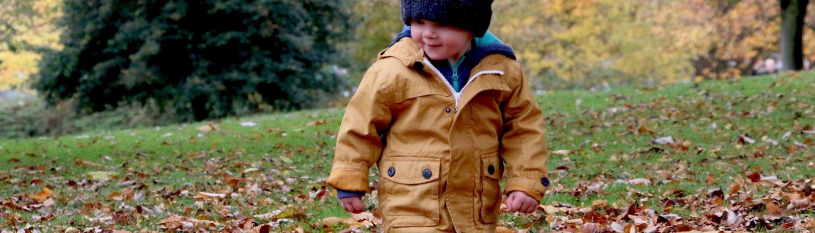 Foto: Barn i efteråret