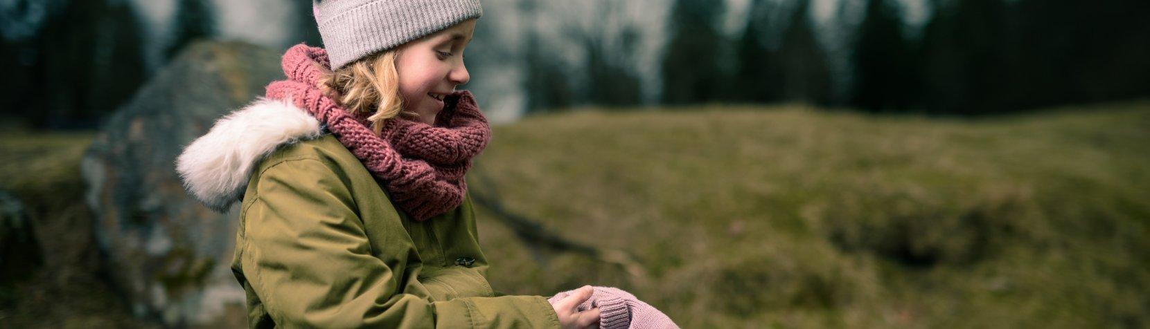 Foto: Barn i naturen