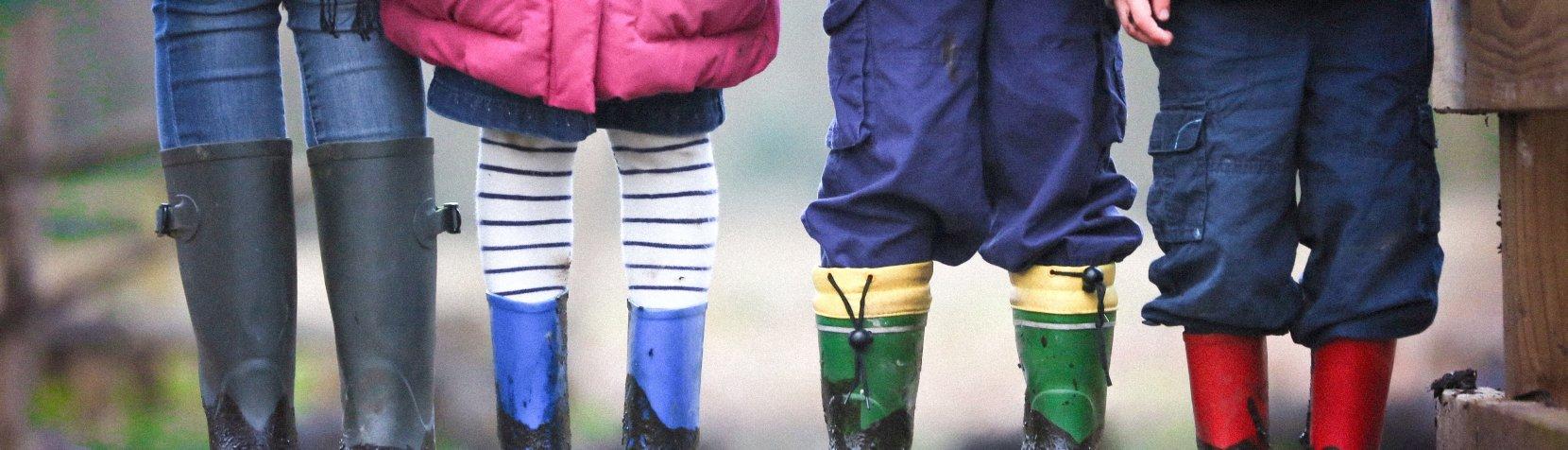 Børneben - reklame for Oplev for børn nyhedsbrev