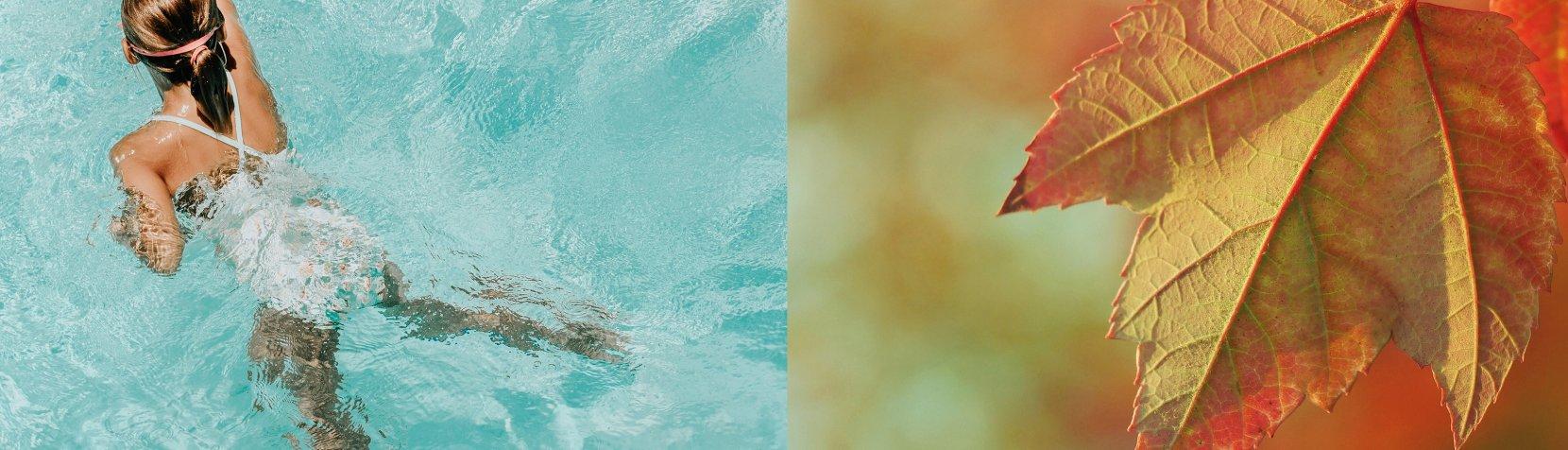 Efterårsferie i svømmehallen