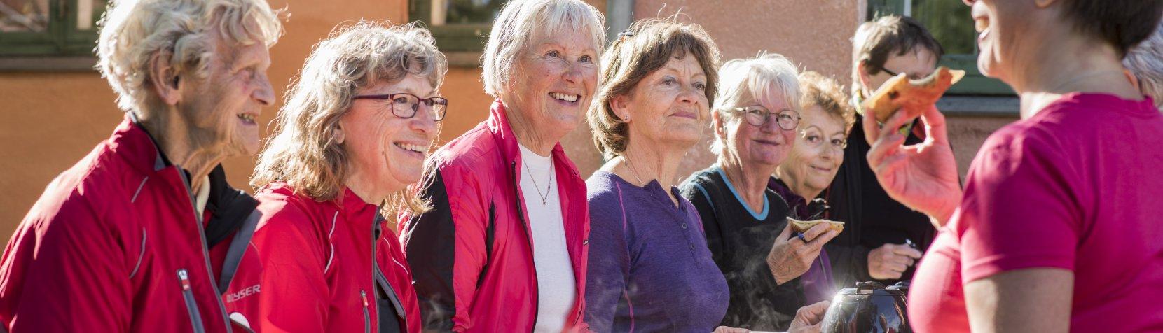 Grøn puls - kvinder i snak