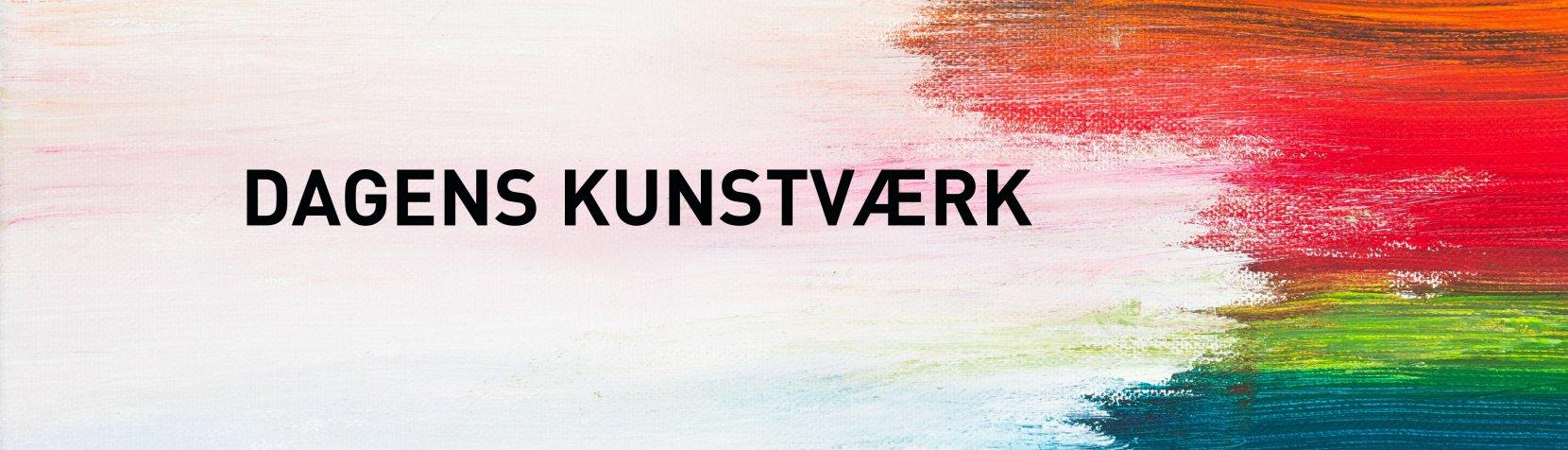 Dagens kunstværk banner