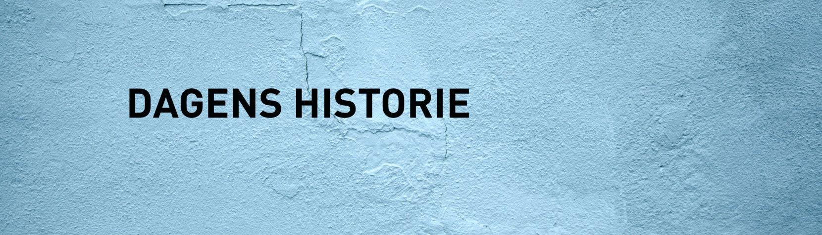 Dagens Historie - billede til alle nyheder
