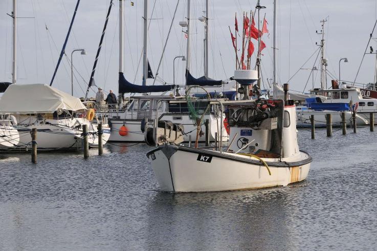 Fiskerbåd Vedbæk