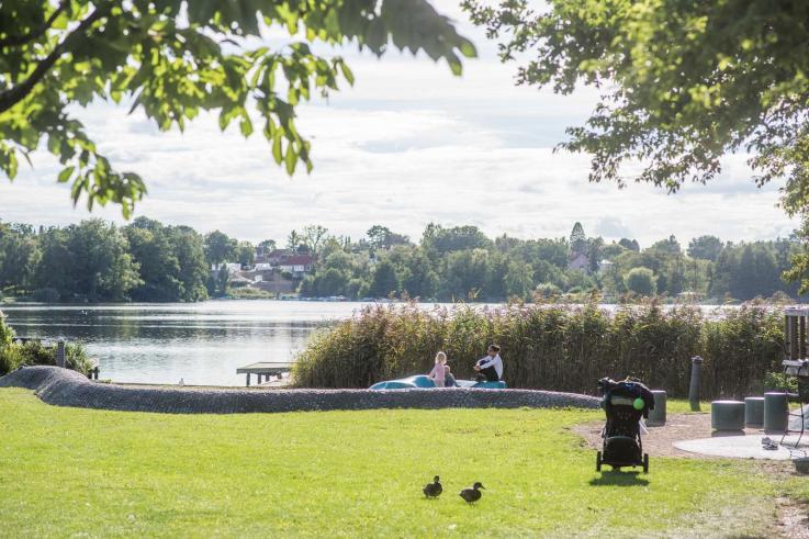 Foto: Holte Havn, Park