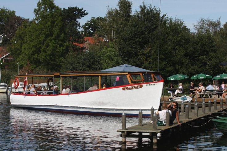 Bådfarten i Holte Havn