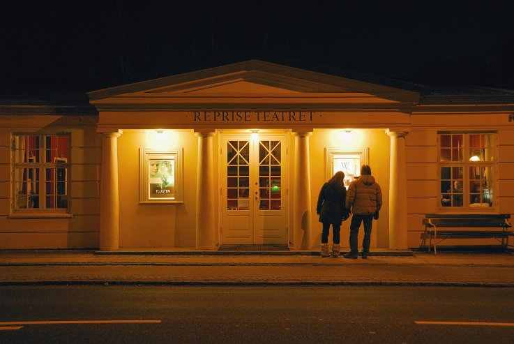 Aften ved Reprise Teatret