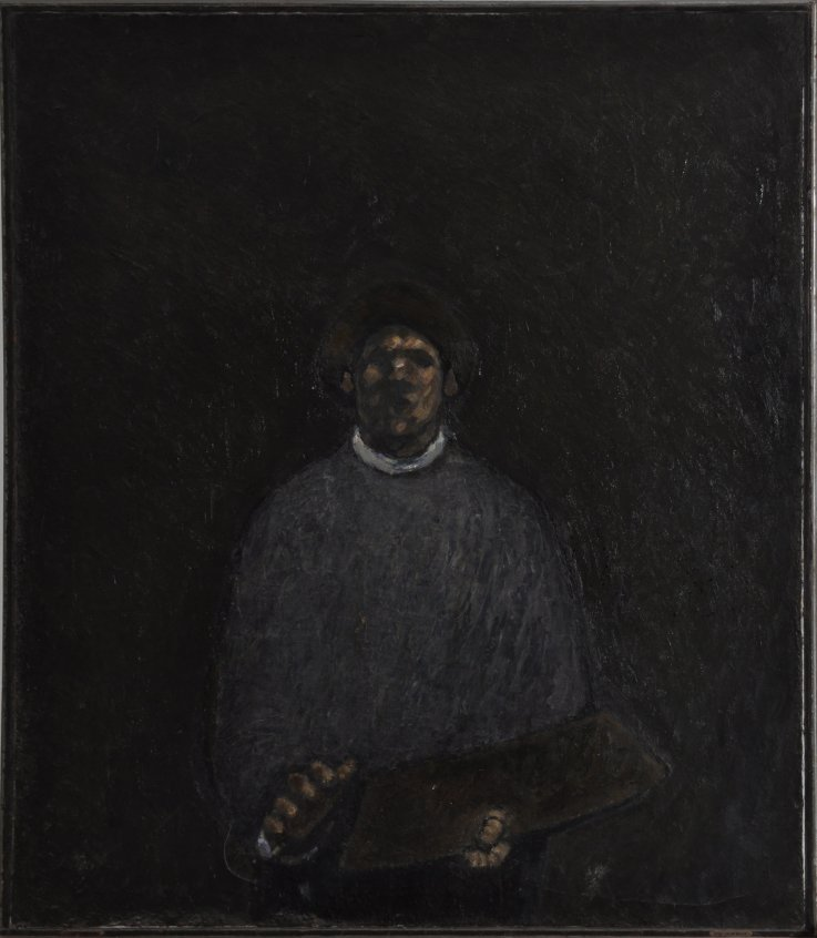 Kurt Trampedach: Selvportræt