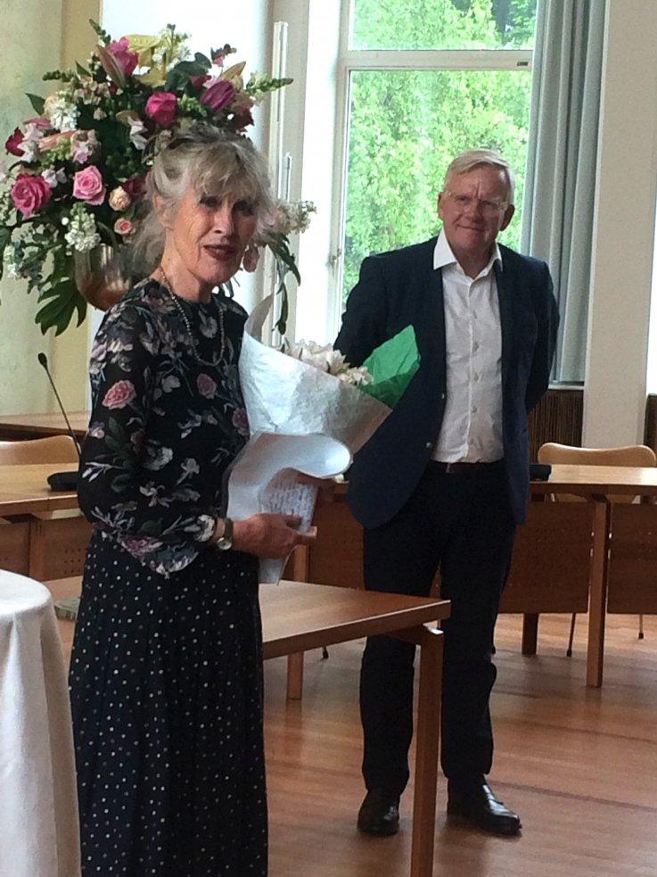 Marianne Schepelern og Jens Ive