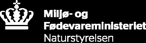 Naturstyrelsen logo hvid
