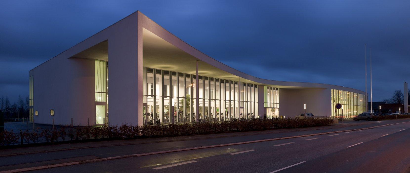 Birkerød Idrætscenter aften Foto: Adam Mørk