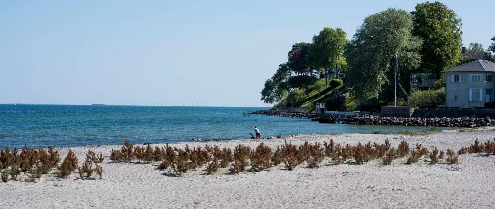 Vedbæk Strandpark - sydstranden