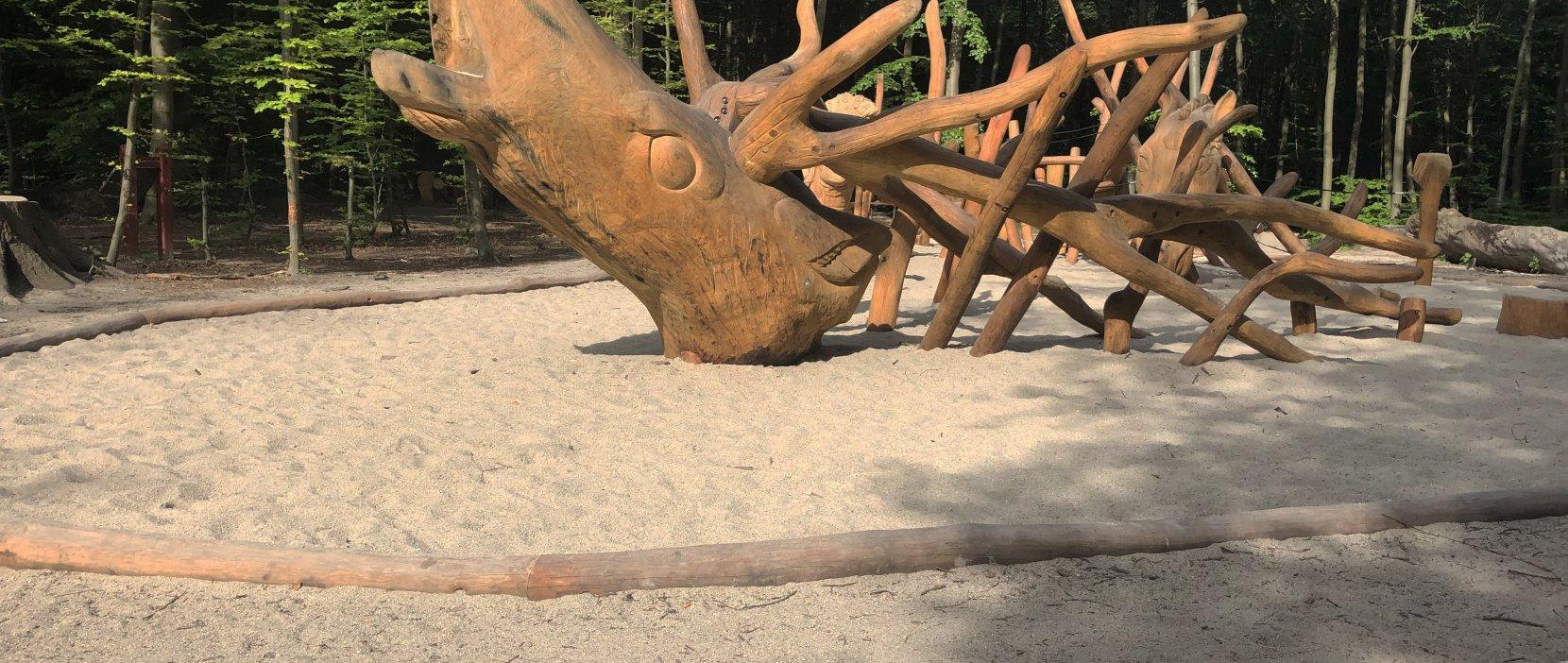 Foto: Skovlegepladsen Kronhjorten