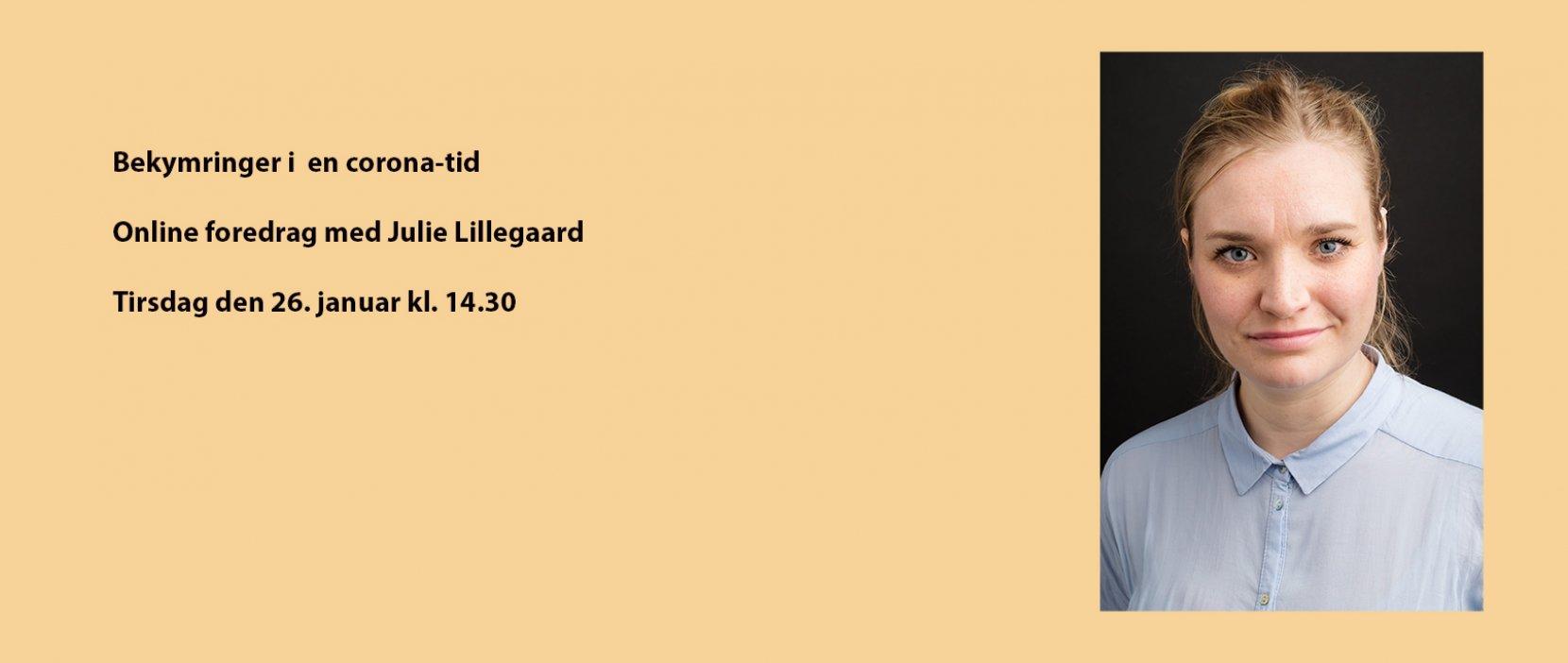 Foredrag med Julie Lillegaard